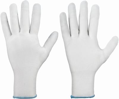 Rondgebreide handschoen, fijngeweven 100 % polyamide