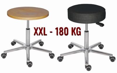 Draaikruk XXL Hercule-I softleder of beuken +180 kg