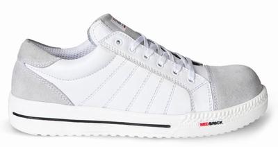 Redbrick White Branco Safety Sneaker Laag S3 (Black)