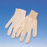 Interlock handschoen 100% katoen, Cat.1, verpakt per 12 paar