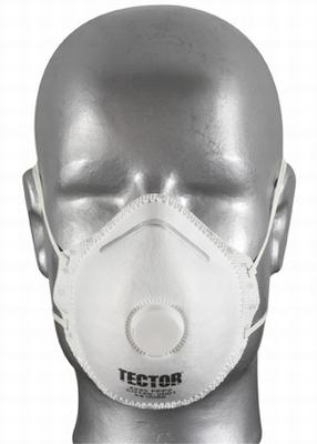 Max-Safe masker FFP2 type Tector- met uitadem-ventiel  Stuks