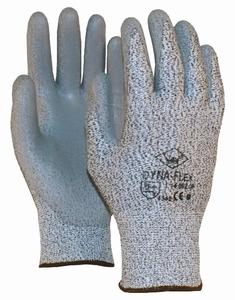 Dynaflex handschoen snijbestendig PU-coating Dynaflex CAT2