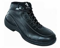 Hoge damesschoen, zwart, S2