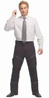 PKA Bestwork Comfortabele werkbroek, elastisch, zwart, 42-66