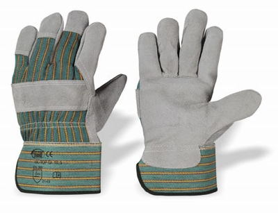 Splitlederen handschoen, Cat.2 Pe kap