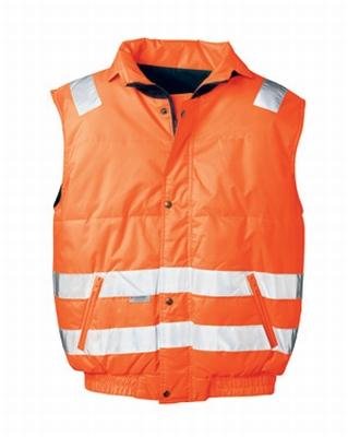 Bodywarmer signaal oranje Kevin  stuks