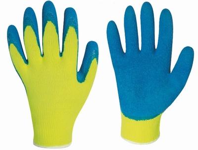 HARRAR fluorgeel grip handschoenen latex rinklecoating