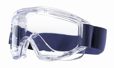 Tector chemicaliënbril  *ACETAT* dicht, EN 166, acetate ruit