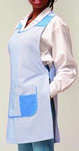 Haen Tabberd model Daisy wit-blauw of wit/wit striped