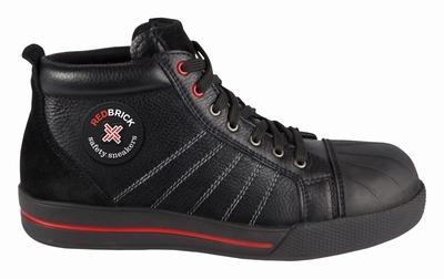 Redbrick Onyx Safety Sneaker Hoog S3 + KN zwart  Paar