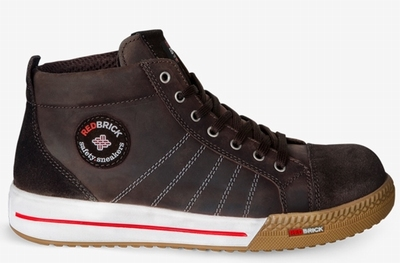 Redbrick Smaragd-Brown Safety Sneaker Hoog S3 (Brown)