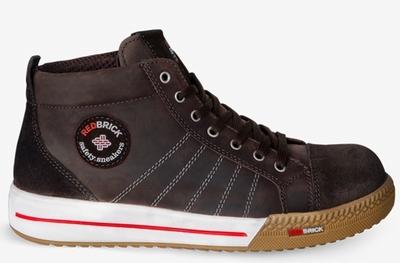 Redbrick Smaragd-Brown Safety Sneaker Hoog S3 (Brown)