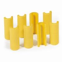 Kunststofclips voor buis-ø 27mm, per 8 stuks