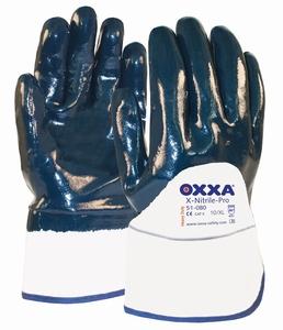Oxxa X-Nitrile-Pro 51-080, canvas kap EN10 open rugzijde  Paar