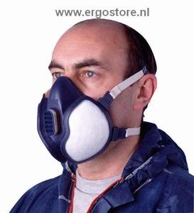 Ademhalingsmasker 3M 4255 organische damp + stof FFA2P3D  stuks