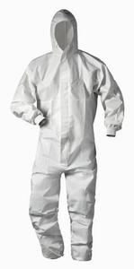 Beschermende overalls Husbergen (asbest / chemie)  stuks