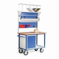 Pakstation mobiel, compleet pak- en weegstation  stuks