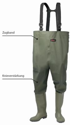 Premium verstelbare waadbroek met laarzen