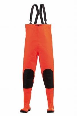 S5 Premium waadbroek met veiligheidslaarzen - oranje