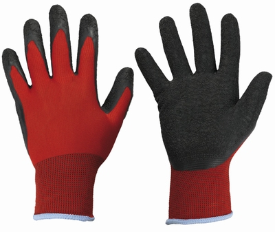 BlackGrip, 100% Polyester , fijngeweven latex-wrinklecoating