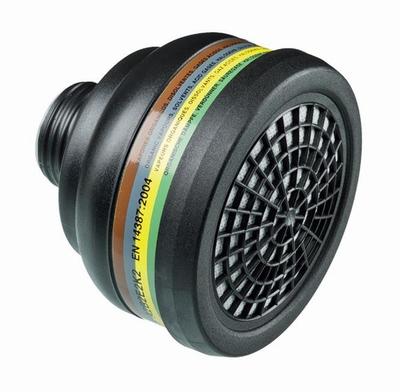 Multi-range filter ABEK ademhalingsfilter uitwisselbaar  stuks