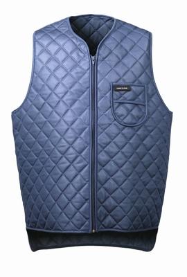 Thermal isolatie vest gewatteerd blauw  stuks