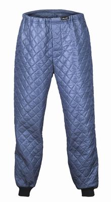 Thermal isolatie broek gewatteerd blauw