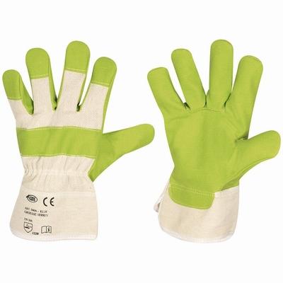 Amerikaantje kunstleer Stronghand Green KLH (chroom-VI-vrij)  paar