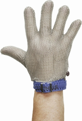 Maliënkolder handschoen, edelstaal, steek en snijbescherming