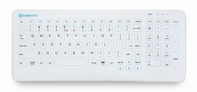 Purekeys hygiënisch cleanroom toetsenbord - USB