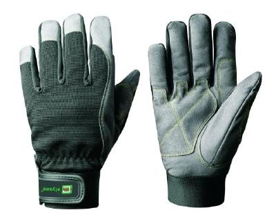 Mechanics handschoen Joiners met 3 vrije vingertoppen