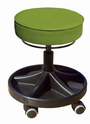 Rolkruk Maestro - 9 cm dikke softseat kunstleder Ø 360 mm