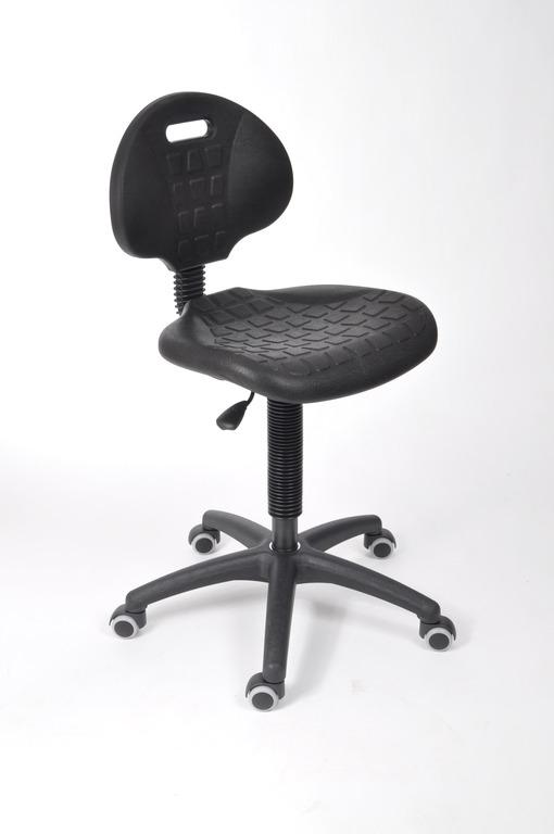 Ambaegtik I - stabiele gasgeveerde stoel met handgreep