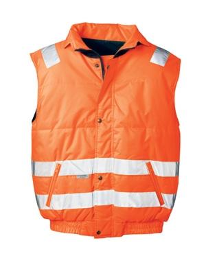 Bodywarmer signaal oranje Kevin