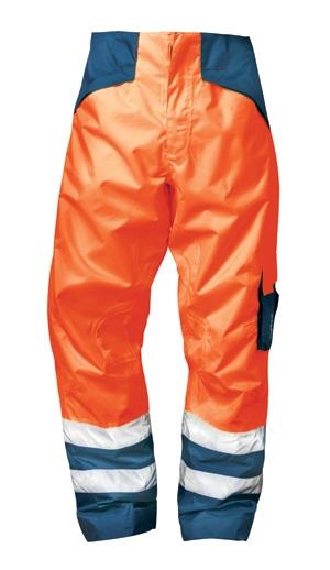 Broek HITCH signaal reflectie fluor oranje