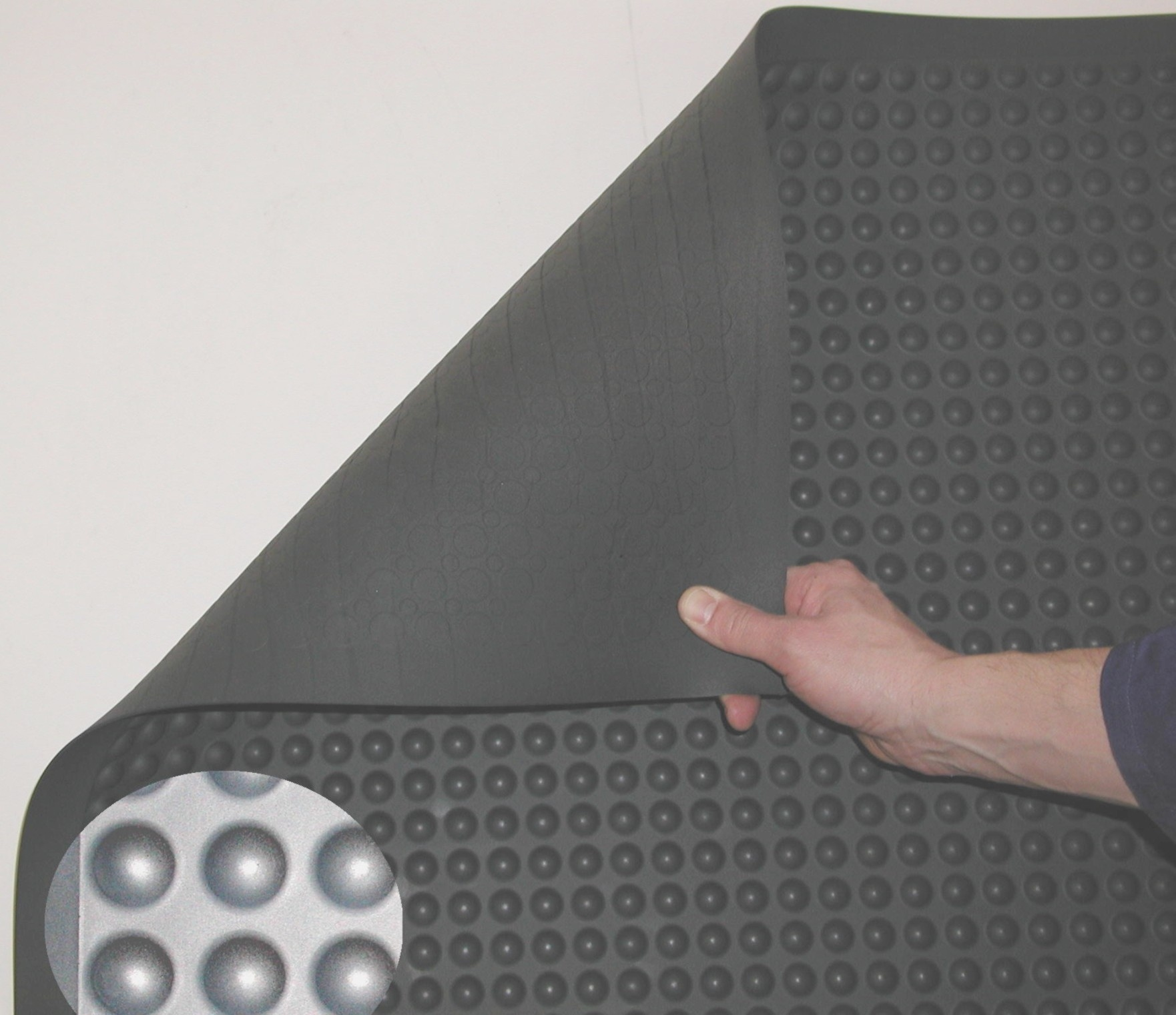 Ergosoft Stand-impulse, rond halfkogelprofiel