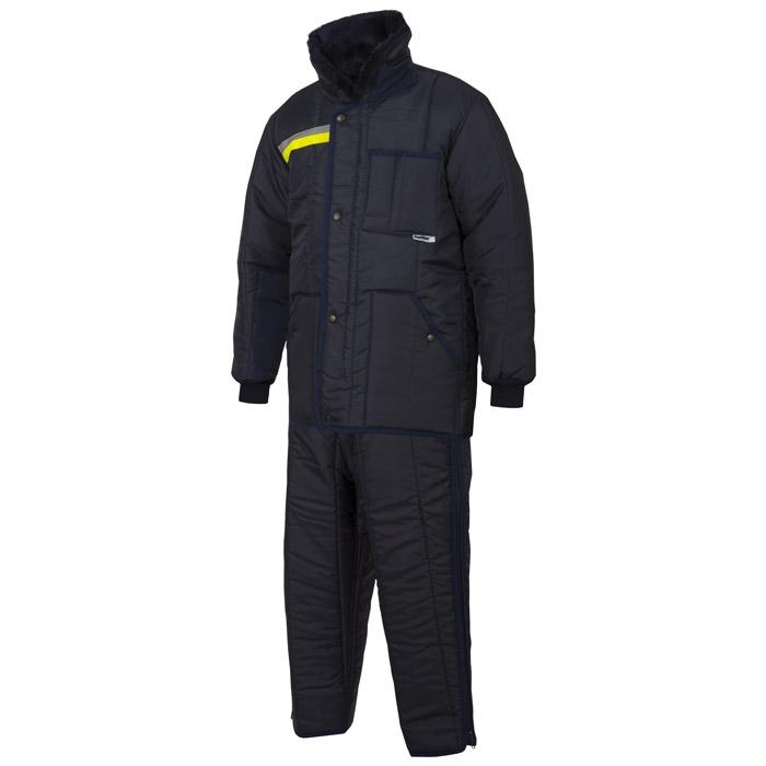IBV broek Classic-Yellow Safety Reflex koelhuis orderpicker