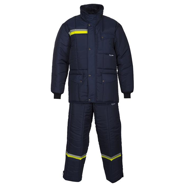 IBV broek Classic-Yellow Safety Reflex vrieshuis orderpicker