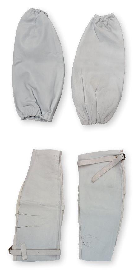 Lasmouwen (per paar) leder las- hitte- snijrisico elastisch