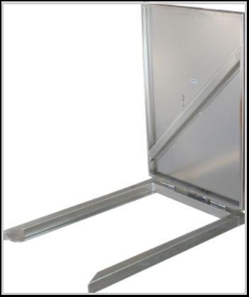 Lift Trolley ESLD80 RVS / INOX hef- en tilhulp - 80 kg