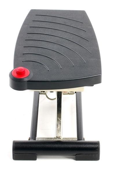 MEYchair ME-EFS 93-0 voetsteun, hoogte en neiging instelbaar