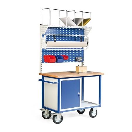 Pakstation mobiel, compleet pak- en weegstation