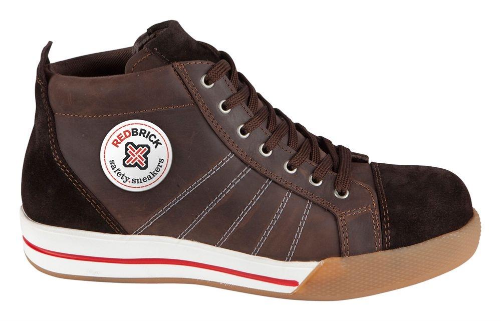 Redbrick Safety Sneaker Hoog S3 (Smaragd-Brown/Granite/Onyx)
