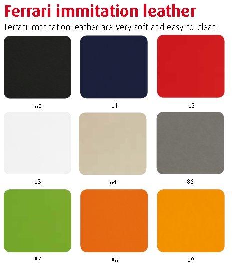 Rolkruk SolStrall kunstleder of stof (optionele rugleuning)