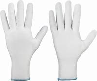 Rondgebreide handschoen, fijngeweven, 100 % polyester