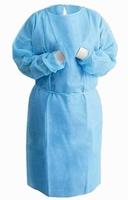 Medische Isolatie jas - eenmalig gebruik single use blauw