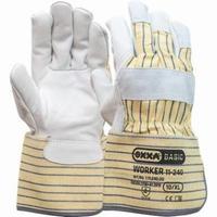 Nerflederen handschoen Paar