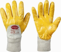 Yellowstar NBR / katoen hands M-Light, Cat.2, 144 pr/ds