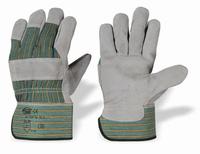 Splitlederen handschoen, Cat.2 Pe kap Paar