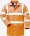 Parka Stephan, signaal reflectie oranje, gewatteerde voering